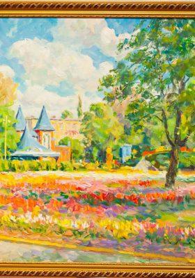 Кіровоградський обласний художній музей та Корпорація «XXI століття» оголошують конкурс на участь в акції - Весняний пленер в Дендропарку.